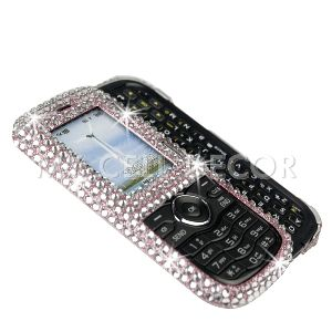 Pink Diamond Bling Phone Case for LG VN250 Cosmos