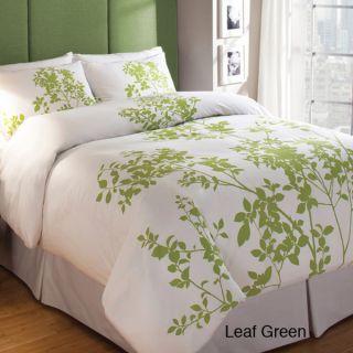 Cotton 3 Piece Duvet Cover Set Silent Woods Two Colors 3 Sizes