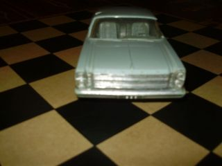 1966 FORD GALAXIE 500 7 LITRE 2D HT Dealer Promo FRICTION Plastic Car