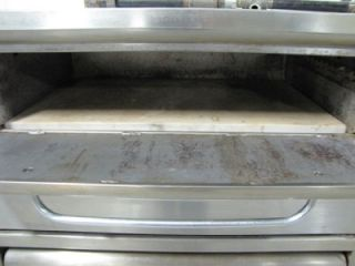 Used Blodgett Double Deck Commercial Pizza Oven Great Shape Clean