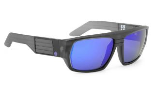 4aad0f41c3 ... Spy Optic Blok Sunglasses Black Ice Grey Purple Spectra New ...