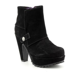 Blowfish Vamp Womens Size 9 Black Synthetic Fashion Ankle Boots