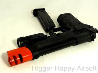 300 FPS M9 Beretta BB Gas Blowback Airsoft Gun Pistol GBB P06B
