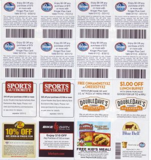 30 off at Kroger Free Blue Bell Ice Cream more over 400 good coupons