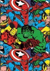New Lamp Shade Marvel Comics Hulk Wolverine Captain America Spiderman