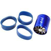 Blue Tornado Turbonator Intake Dual Fan Gas Fuel Saver Engine Enhancer