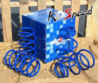 DNA Blue Suspension lowering Spring Springs Chevy Impala Monte Carlo