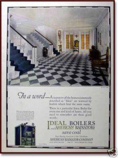 arco ideal boilers american radiator s michigan a ad