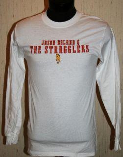Jason Boland The Stragglers Concert Shirt Small s 519