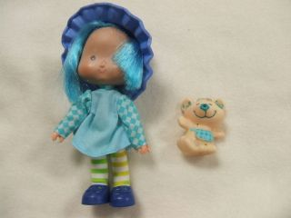 1982 STRAWBERRY SHORTCAKE BLUEBERRY MUFFIN CHEESE CAKE PET LOT