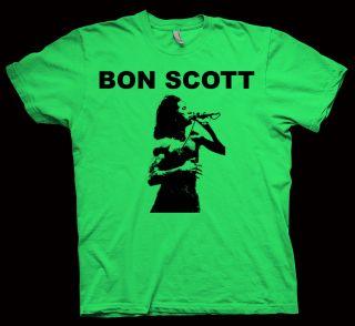 Bon Scott T Shirt AC DC Angus Young Def Leppard LP CD