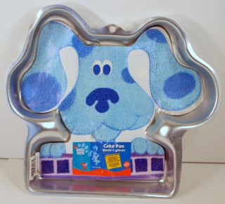 Wilton Blues Clues Puppy Dog Cake Pan Insert Mold Blue
