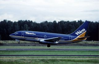 boeing 737 200 combi aircraft of wien air alaska