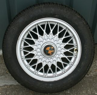 15 BBS oSpoke Alloy Wheel 7J 4x100 BMW E30 Z1 poss Mini Golf MX5