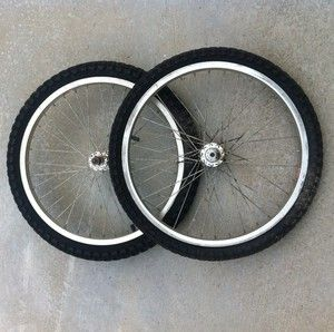 MONGOOSE BMX WHEELS BY ALEX RIMS TIRES 20 OLD SCHOOL BMX KOS