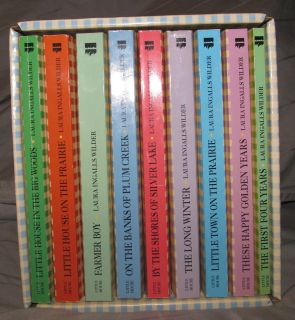 The Prairie Complete Box Set 9 Books Laura Ingalls Wilder Ealc