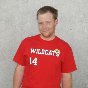 Troy Bolton Wildcats Jersey T Shirt High School Musical