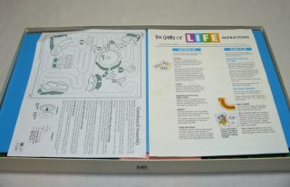 1991 The Game of Life Complete Board Game Vintage Classic Family Fun