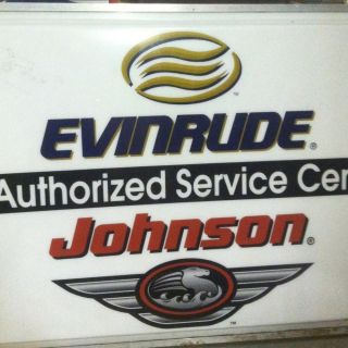 Johnson, Outboard, Boat Motors, Dealer Sign, Collector, Fishing, Boats