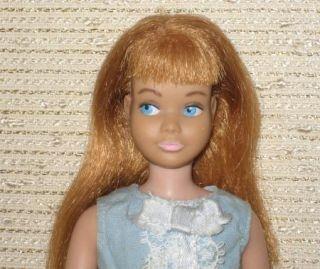 Vintage Mattel Skipper Lot 5 Skipper Dolls 1 Skooter Case Clothes