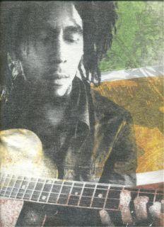 Bob Marley NEW T Shirt White Mens XL All Cotton Natural Mystic CD