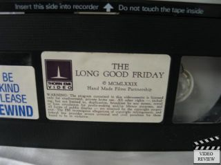 Long Good Friday The VHS Bob Hoskins Helen Mirren