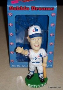 Montreal Expos SGA Baseball Bobblehead Collectible w Box RARE