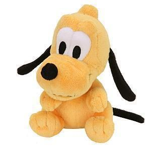 DISNEY Wobble Head Plush PLUTO 6 mickey mouses dog Bobblehead