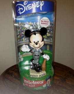 Painted San Francisco Giants Mickey Mouse Disney Bobblehead