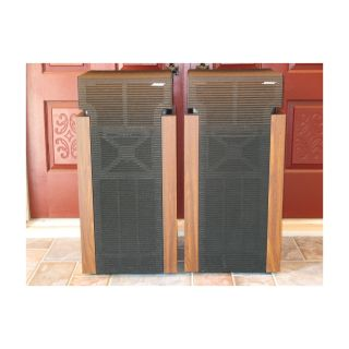Bose 601 Series II Floor Standing Speakers, Look Great, Sound Even