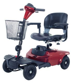 Drive Medical Bobcat 4 Wheel Compact Wheelchair Electric Power Motor