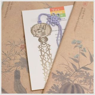 Majestic Dragon Metal Bookmark Imaginary Dragons Tail with Korean