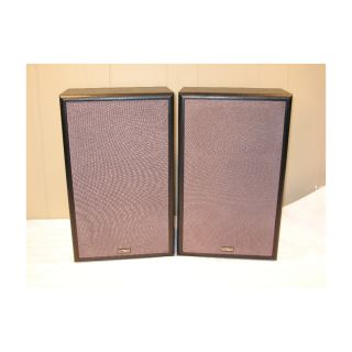 Cambridge Soundworks Model Six Bookshelf Speakers Excellent  and