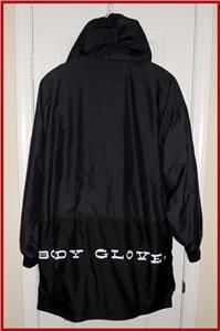 Body Glove Snow Snowboard Nylon Windbreaker Jacket Mens Large Hoodie