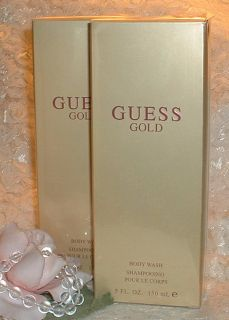 Guess Gold Women Perfume D Body Wash Full Size