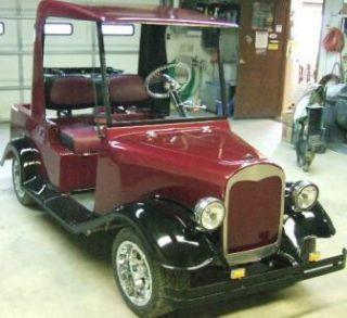 Golf Cart 1932 Street Rod Body Kit