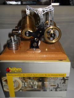 BOHM Stirling Engine HB12 for Live Steam Toys