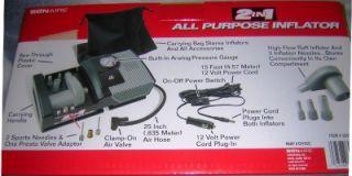 bonaire all purpose 12volt air compressor tire pump new