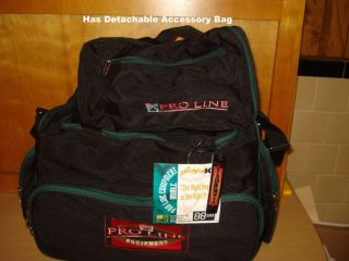 Industries Pro Line Equipment Bowling Ball Two Ball Bag Black