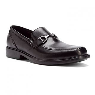BOSTONIAN Mens Laureate Dress Loafers Shoes Black Leather 25860
