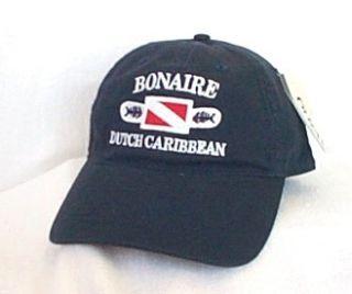 Bonaire Dutch Caribbean Scuba Diving Ball Cap Hat