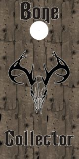 "Bone Collector Cornhole Board Decals 24""X48"""