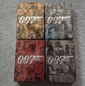Bond 007 Ultimate Collection DVD Boxed Movie Gift SET Edition Unopened