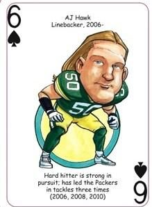 Green Bay Packers NFL Football Playing Poker Cards Fans Hero Decks
