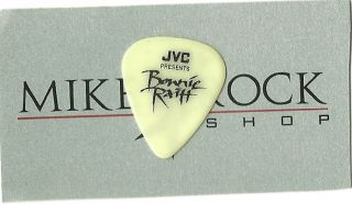 BONNIE RAITT GUITAR PICK GREENISH YELLOW GLOW TOUR ISSUE PICK STAGE