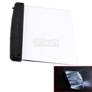 B5UT New Portable LED Light Panel Book Reading Light Lamp for Magazine