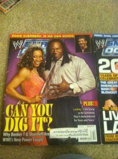 Booker T Sharmell WWE SmackDown wrestling Magazine January 2006 WWF