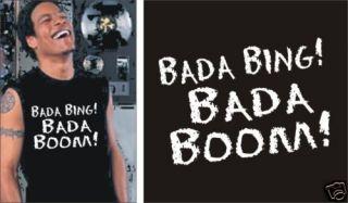 Sopranos Bada Bing Bada Boom Muscle T Shirt