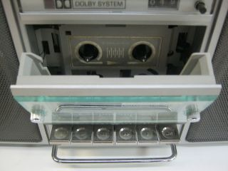 vintage general electric ge 3 5286a radio cassette tape player boombox