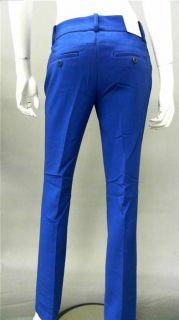 Favorite Fit Ladies Womens 14 Stretch Dress Bootcut Pants Blue Sale